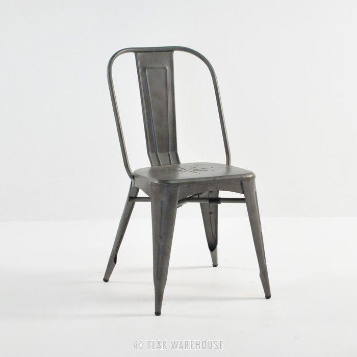 Alix Aluminum Modern Dining Chair | Teak Warehouse