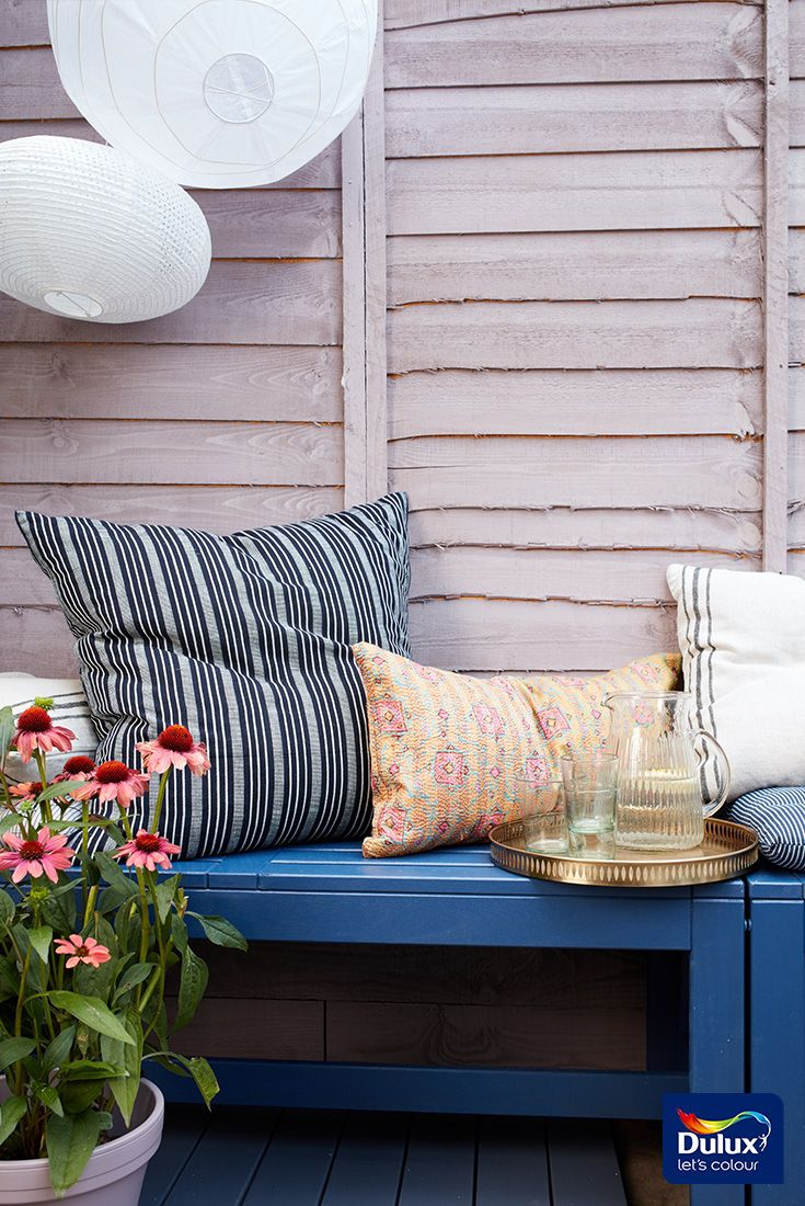 Our 2018 colour of the year heart wood works beautifully in the garden too create your perfect garden entertainment space with cuprinol garden shades