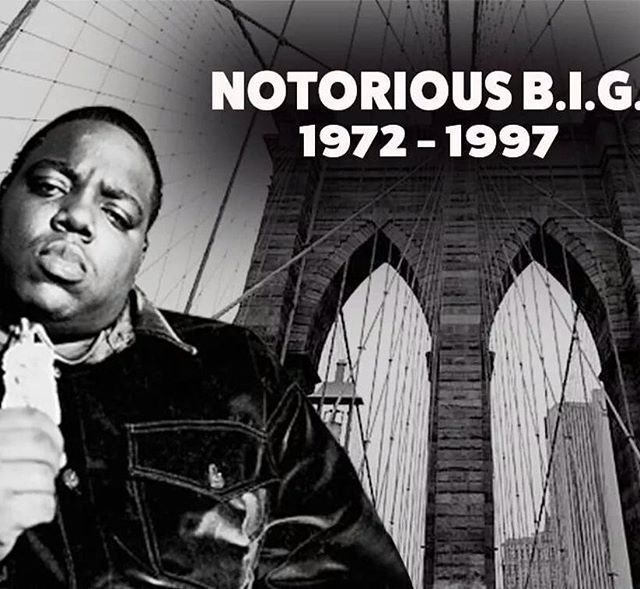 REMEMBERING BIGGIE SMALLS: Today is the 20th anniversary of the death of Brooklyn-born rapper Christopher Wallace — or as we know him, Biggie Smalls or The Notorious B.I.G., who was shot and killed on this day in an L.A. drive-by shooting.