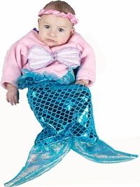 baby mermaid costume - Baby Mermaid Halloween Costume
