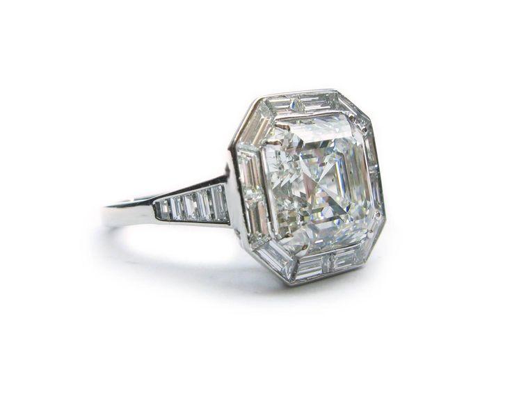 Diamond   Carat Platinum Ring