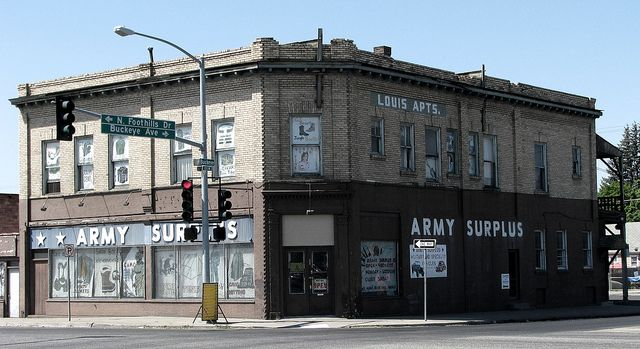 st spokane 7535 division st army surplus local forward army surplus ...