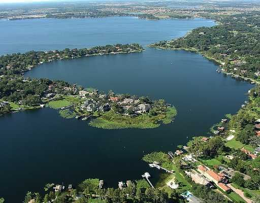Aerial view of Windermere Floridia