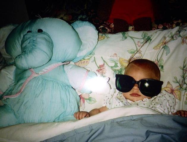 "Hayden Panettiere: ""Back in the day baby Hayds : )"" -@Hayden Panettiere Credit: Twitter"