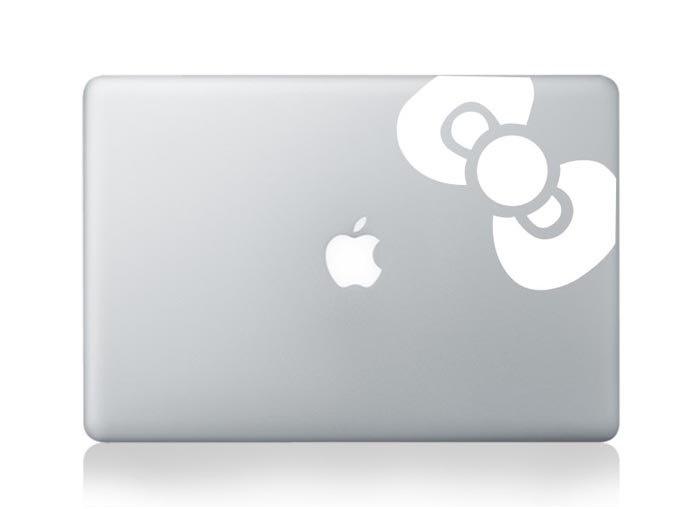 Macbook Decal Mac book Stickers Macbook Decals Apple Decal for Macbook Pro / Macbook Air / iPad / iPad2 / ipad3/ iPhone 4/4S. $6.99, via Etsy.