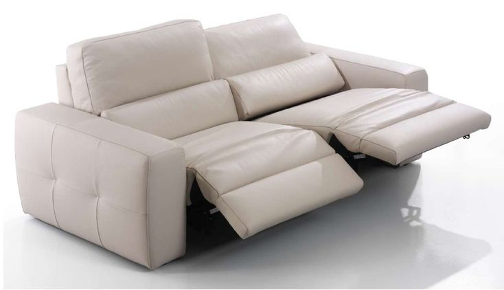 Eurosaceu0027s Aston Reclining Sofa   Sofa Length: 87.4