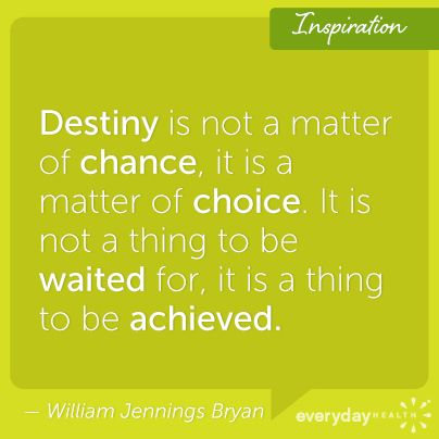 What's your destiny?