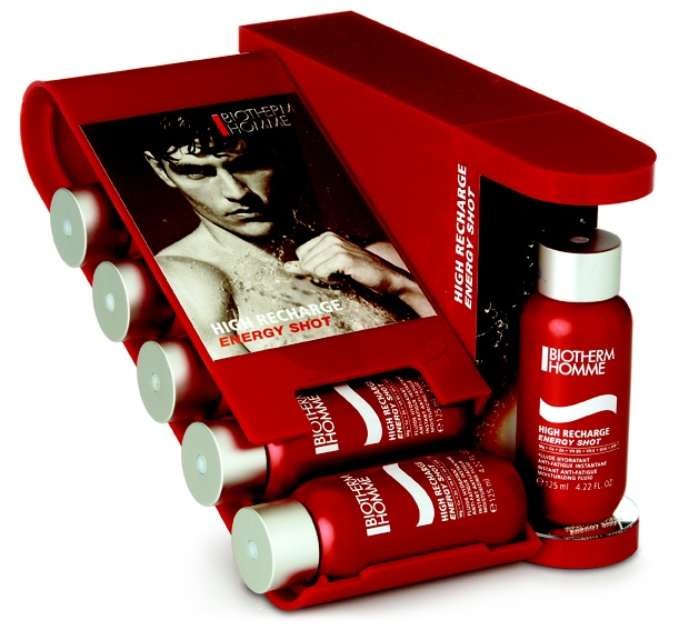 Biotherm Men table top store display