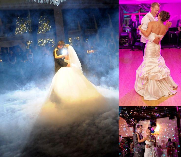 fog machine wedding