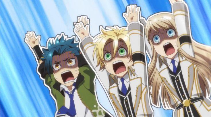kamigami no asobi funny | Kamigami no Asobi Takeru, Apollon, and Balder