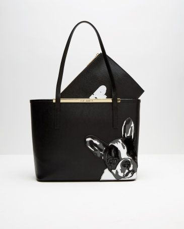 French bulldog shopper bag