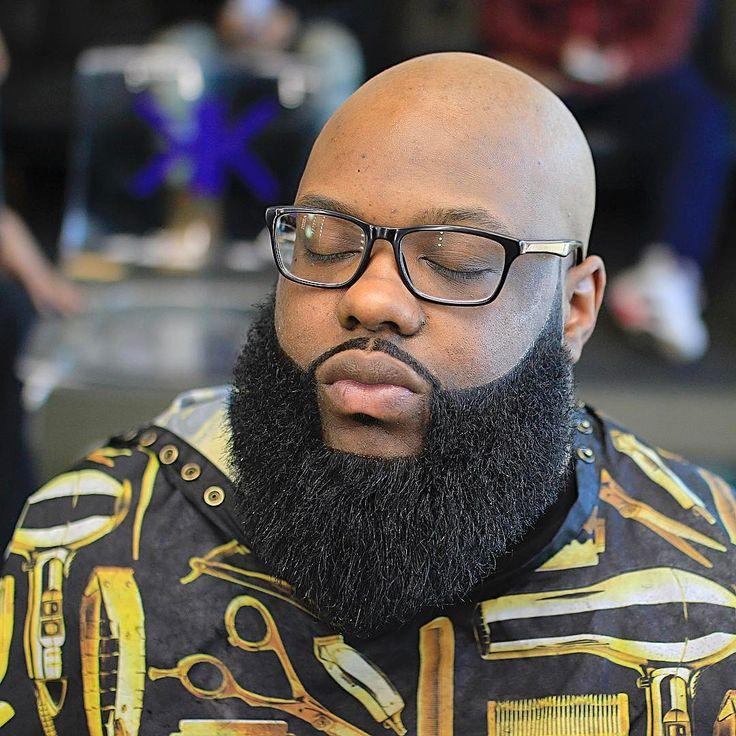Black Men Long Beard Styles