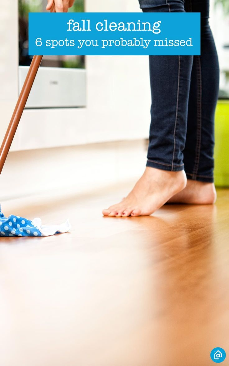 Fall Cleaning: 7 Spots You Probably Missed