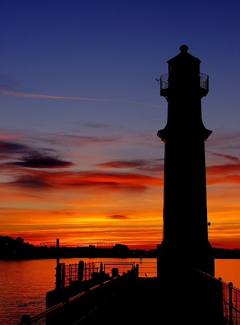 Newhaven Harbour Lighthouse - Scotland