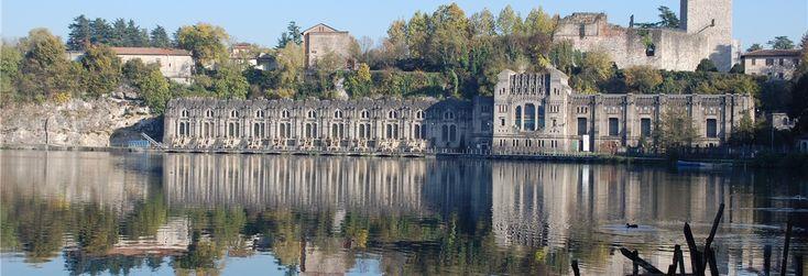 #Pianuradascoprire la centrale Taccani a Trezzo. Ingegno e bellezza.