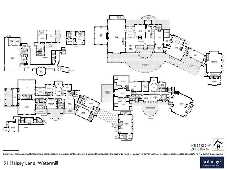 813 Best Images About Floor Plans On Pinterest
