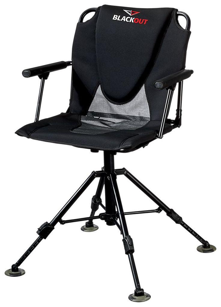 BlackOut Swivel HardArm Chair  gift ideas  Chair