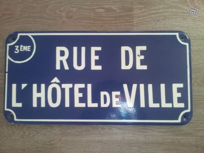 plaque de rue ancienne emaillee d coration loire atlantique vintage project. Black Bedroom Furniture Sets. Home Design Ideas