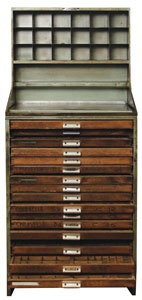 vintage french type cabinet