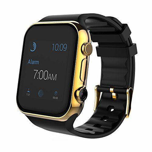 Aipker Bluetooth Smartwatch Phone for Android and IOS Smart Phones (Gold) ** To view further for this item, visit the image link.