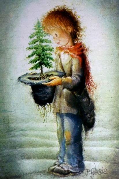 Christmas Illustration by Juan Ferrandiz (Mejores Galerías de Anime, DigitalArts y Más ------> Licena Hill: Las)
