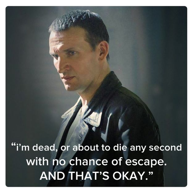 Ninth Doctor (Christopher Eccleston) | 11 Best Quotes Of The First 11 Doctors