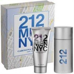 Carolina Herrera 212 Men EDT 100 ML - Erkek Parfüm Set