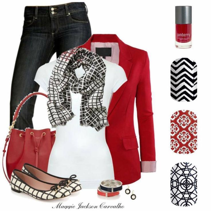 Match your Jamberry Nail wraps to your outfit! What's your style?