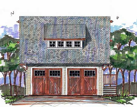 80 best carriage house plans images on pinterest garage for Craftsman carriage house plans
