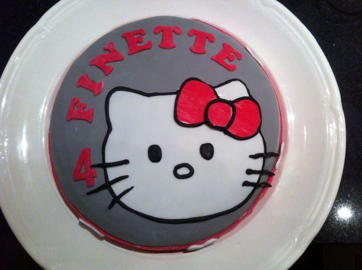 Hello Kitty taart
