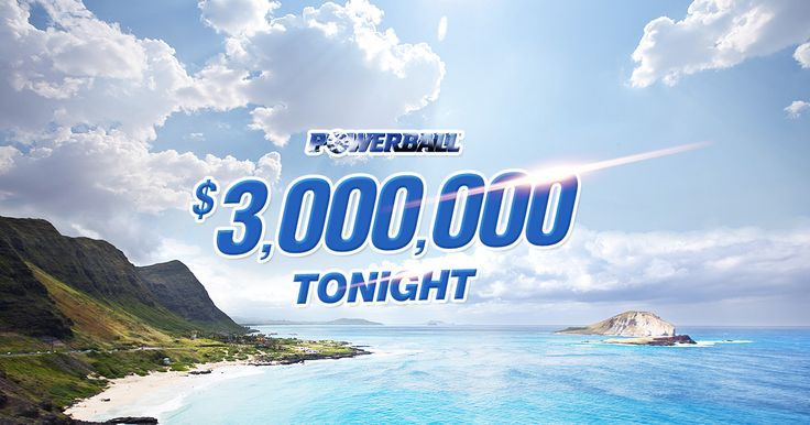 Missed out on the Oz Lotto jackpot? Try your luck at $3,000,000 Powerball tonight instead!