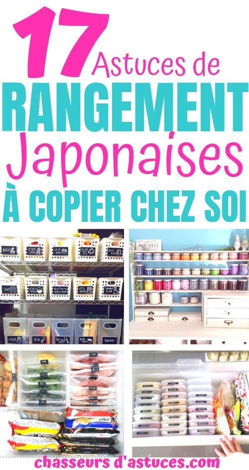 17 astuces d'organisation totalement géniales provenant du Japon