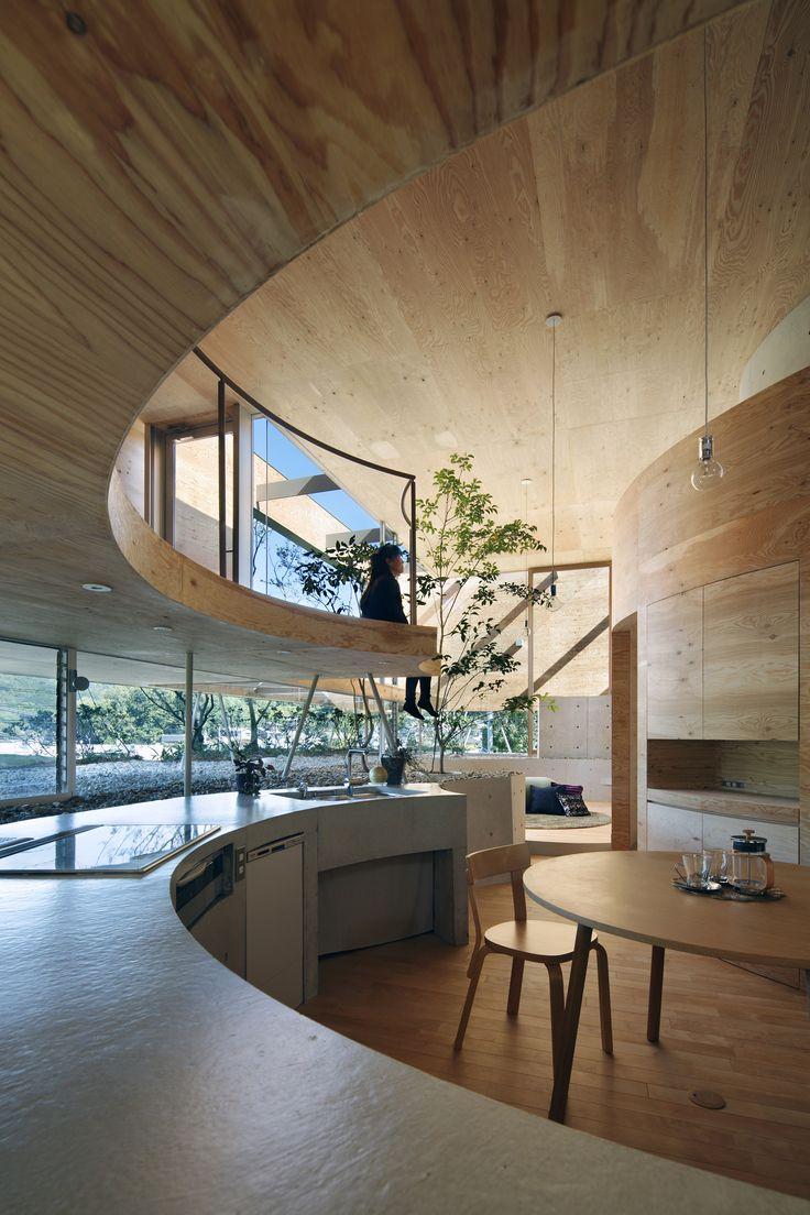 // Pit House by UID Architects. Photo: Koji Fujii/Nacása + Partners Inc | archdaily
