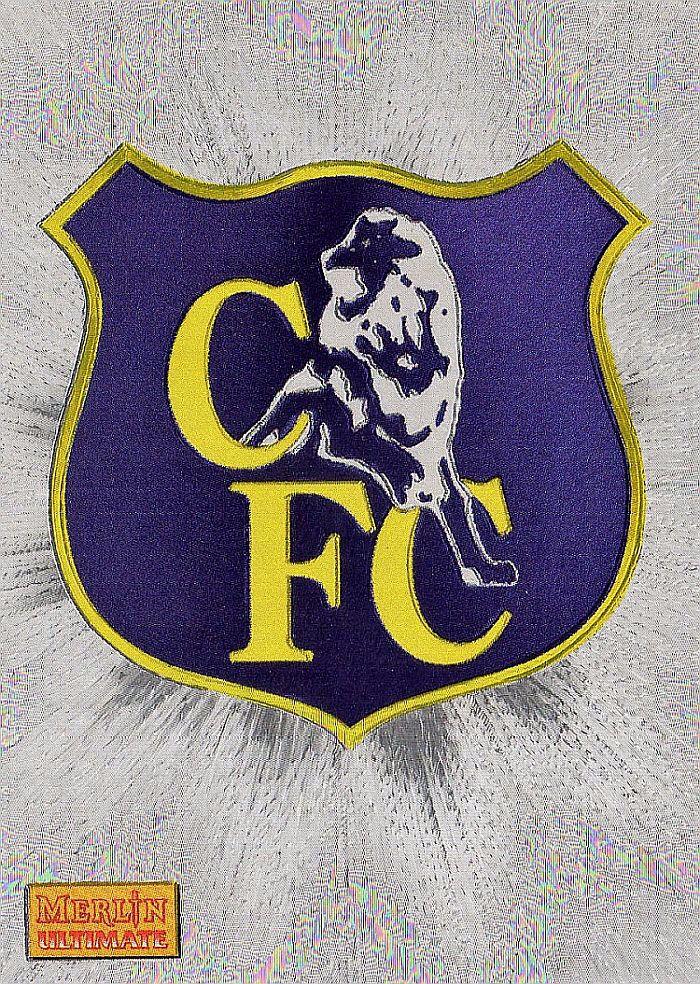 Chelsea crest card in 1994. | Football club, Team logo, Football