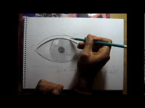 Curso de dibujo a lápiz cap. 9 (Ojos y cejas)