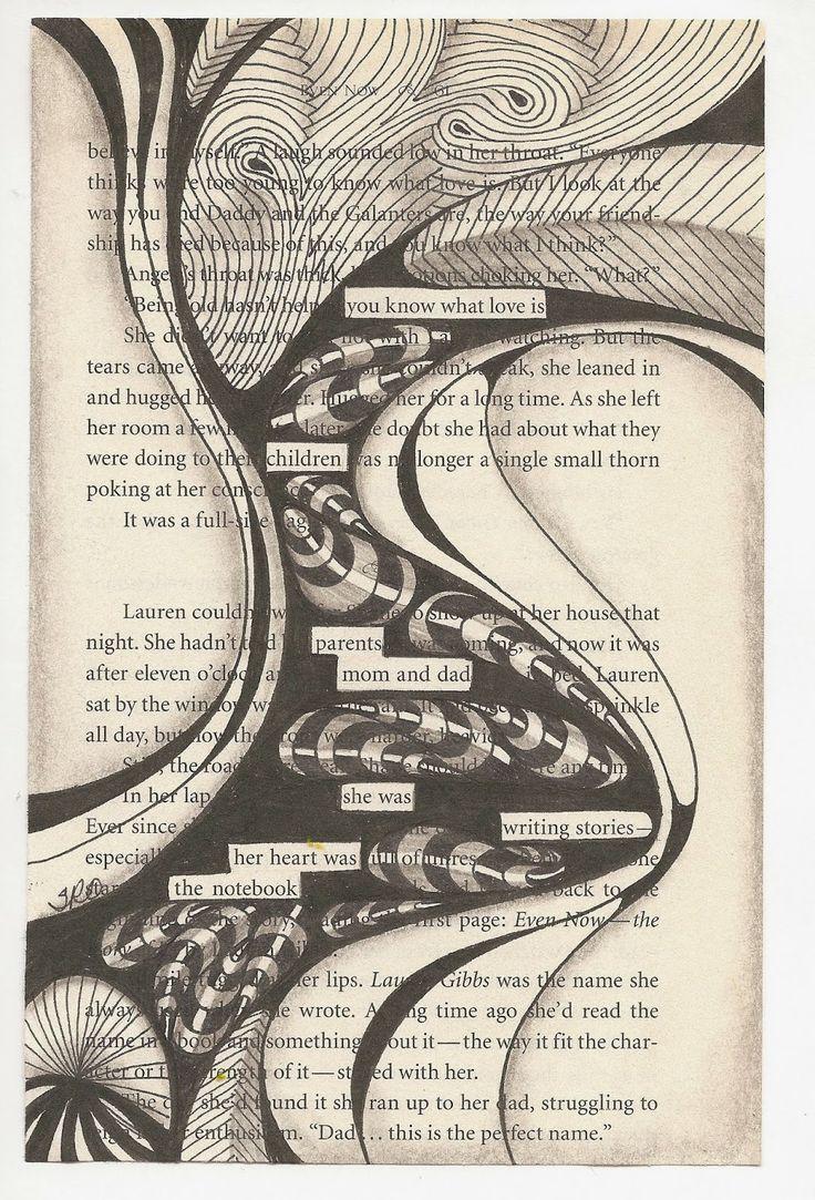 SuZen Art: Blackout Poetry....Great Fun