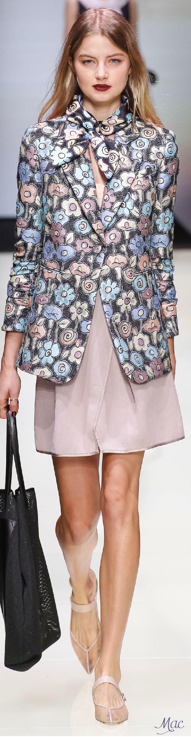Spring 2016 Ready-to-Wear Emporio Armani