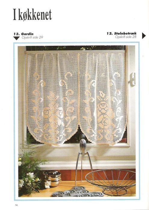 Haekling №17 manteles, servilletas, cortinas. Debate sobre LiveInternet - Servicio ruso diarios online