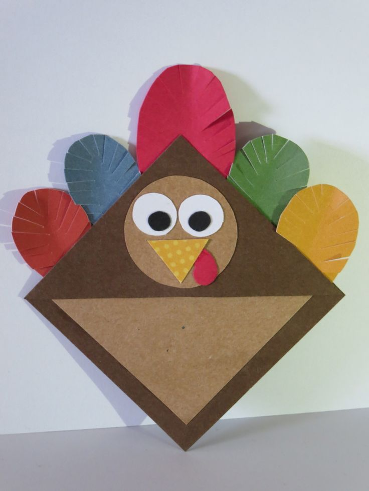 Turkey corner bookmark