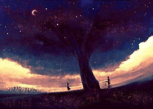Anime Night Sky: 1000+ Images About Anime Artwork On Pinterest