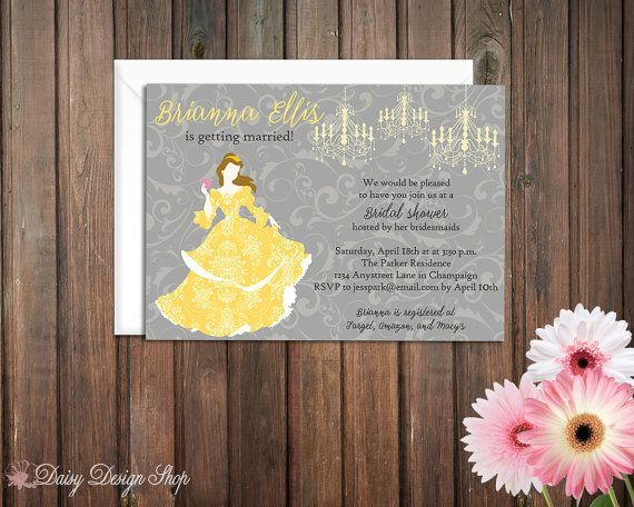 50 best Beauty and the Beast Bridal Shower images on ...