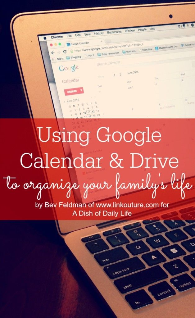 Juggling multiple schedules? Use Google Calendar and Google Drive, two fantastic free tools, to help keep your busy family life organized so that you have more time to enjoy spending with them!