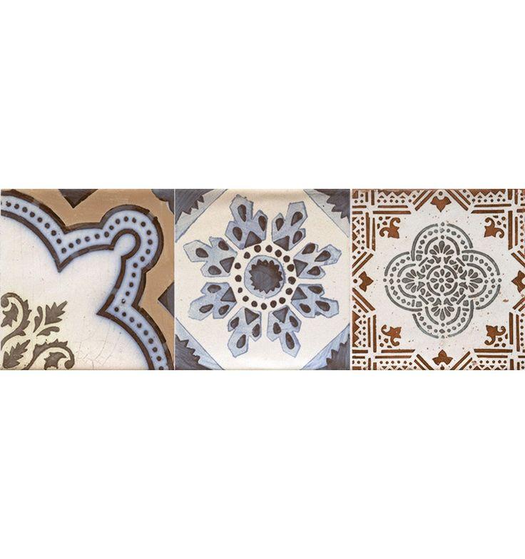 Marockanskt kakel på kakelmonster.se | Dekoration Bulevar Warm 10x30