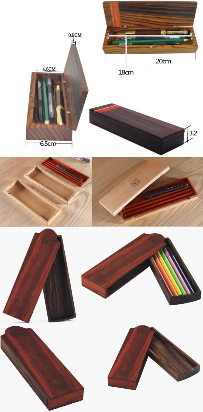 Wooden Pen  Pencil holder, Wooden Pencil  Pen box, Wooden Pen Pencil Case , Wooden Pen Pencil pouch, Personalized Pencil case, Wooden Pen holder Pencil case customized / Wood pencil box / di VenaturArtistica Pencil case customized / Wood pencil box