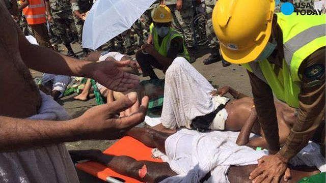Saudi officials: Over 700 dead in hajj pilgrimage stampede