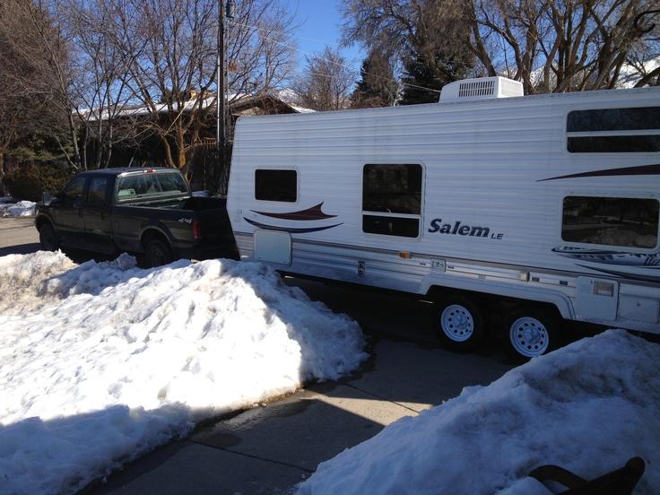 Logan Utah. Location Petersons front drive.