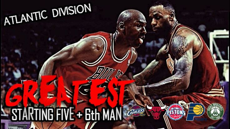 WATCH: NBA Central Division Greatest Starting Five + 6th Man