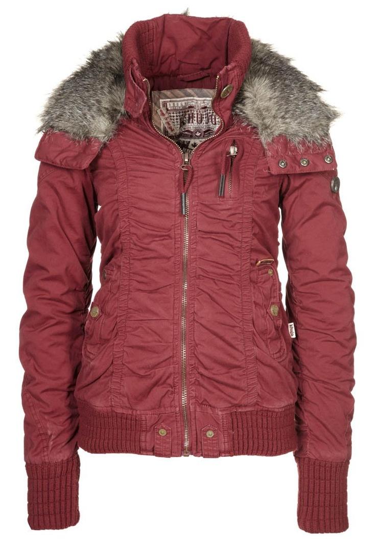 GIGGLES - Winter jacket - red - Zalando
