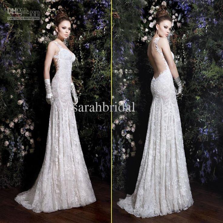 Discount Sexy 2014 Vintage Empire Wedding Dresses