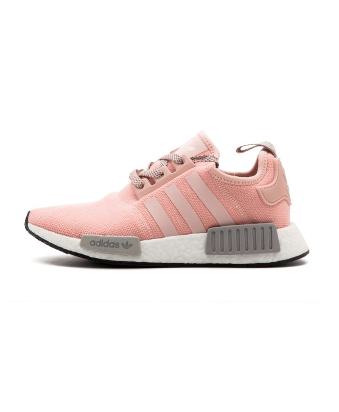 Adidas NMD R1 Pink Light Grey Trainer Pink with bright and bright features,  it is